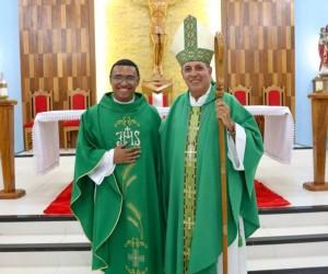 Posse do padre Everton Ferreira na paróquia Nossa Senhora das Graças, no Quinari