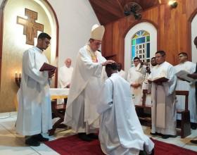 Diocese de Rio Branco celebra a ordenação diaconal do seminarista Damas Antoine