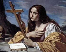Hoje é celebrada Santa Maria Madalena, padroeira dos arrependidos