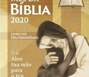 Com o lema, Abre tua mão para teu irmão, inicia-se o Mês da Bíblia