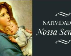 A igreja celebra a Natividade de Nossa Senhora