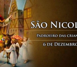 Neste domingo a igreja celebrou  São Nicolau: O  padroeiro das crianças