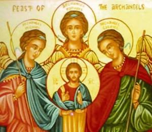 Hoje a igreja celebra a festa de três santos arcanjos: Miguel, Gabriel e Rafael