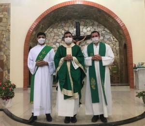 Padre Raimundo Mustafa assume como pároco da Paróquia São Lourenço na Vila do V