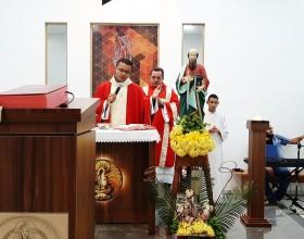 Paróquia São Paulo Apóstolo celebra a festa de seu padroeiro.
