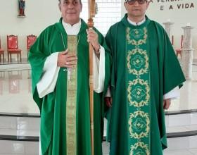 Missa de posse do novo pároco da paróquia São Sebastião de Epitaciolândia