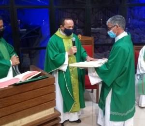 Paróquia Santa Inês ganha Novo Pároco