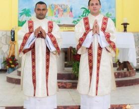 Diocese de Rio Branco ganha dois novos diáconos transitórios