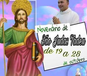 Paróquia São Judas Tadeu inicia novenário em honra a seu padroeiro