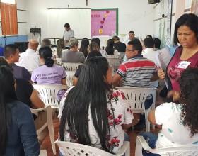 Diocese promove formação para secretários e secretárias paroquiais