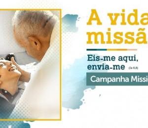 Campanha Missionária 2020: A Vida é Missão