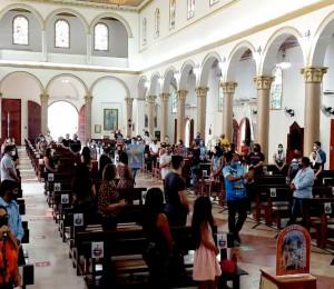 Primeiro domingo de setembro foi marcado pelo retorno das missas presenciais na Diocese de Rio Branco