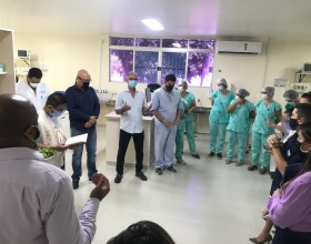Hospital Santa Juliana Inaugura novos Leitos de Uti destinados a pacientes do Covid-19