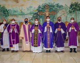 Celebração de Posse Canônica do novo pároco, Padre Igor Câmara