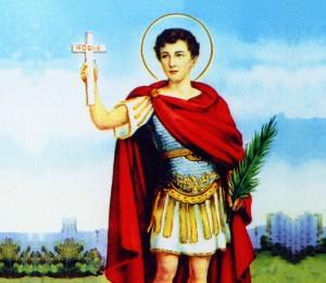 Hoje é celebrado  Santo  Expedito,  padroeiro  das causas justas e urgentes