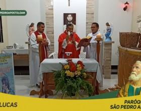 Paróquia São Pedro Apóstolo realiza festa em honra a seu padroeiro