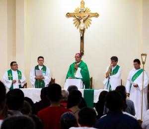 Paróquia São Jorge acolhe novo pároco